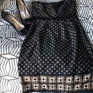 Banana Republic Strapless Dress NWT Size 8.